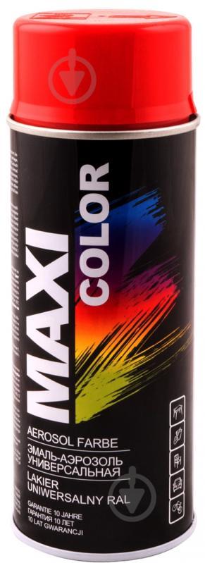 Эмаль аэрозольная RAL 3001 Maxi Color ярко-красный 400 мл - фото 1