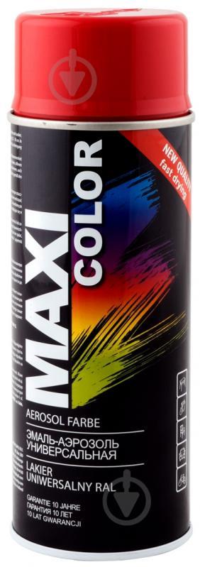 Емаль аерозольна RAL 3002 Maxi Color кармінний-червоний 400 мл - фото 1