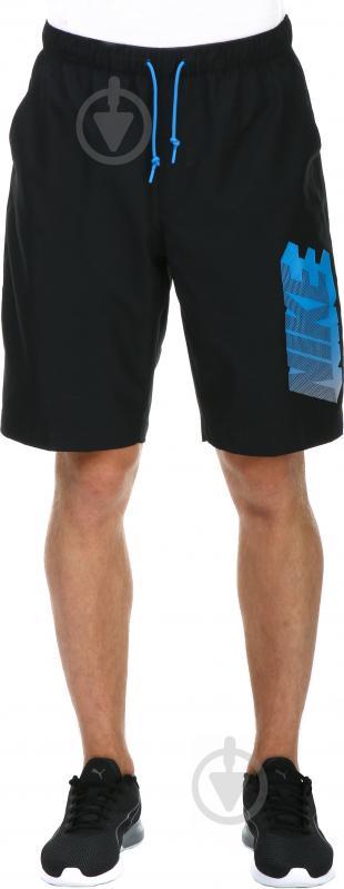 Шорты Nike 727784-010 р. S черный - фото 1