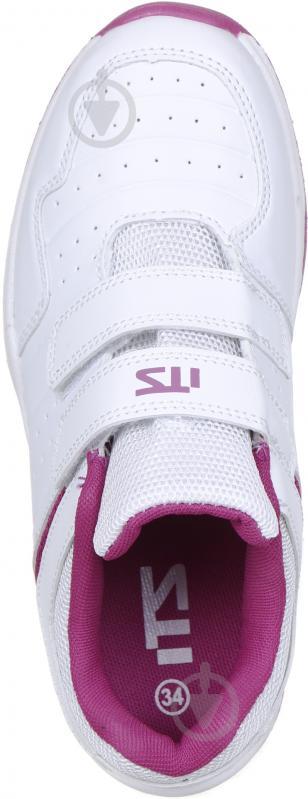 Кросівки ITS Net VLC JR 244277-901001 р. 32 біло-темно-рожевий - фото 4