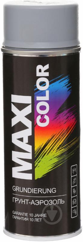 Ґрунт аерозольний Maxi Color сірий 400 мл - фото 1