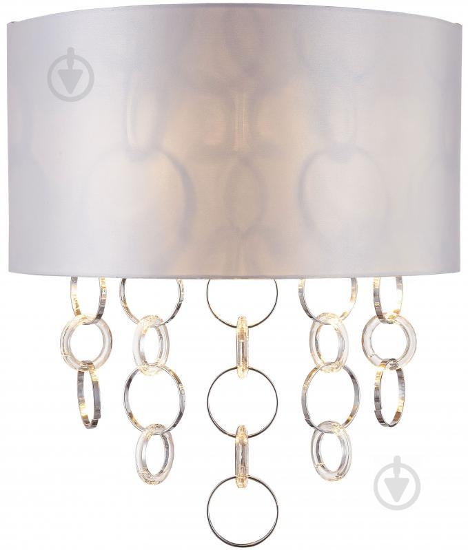 Бра Victoria Lighting 2x40 Вт E14 хром Emilia/AP2 - фото 1