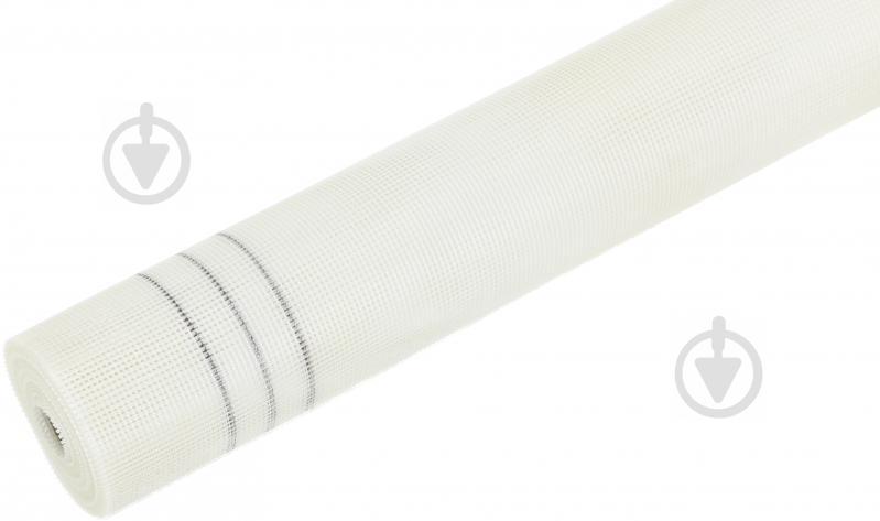 Стеклосетка штукатурная щелочестойкая BauGut 5x5 160 г/кв.м - фото 1