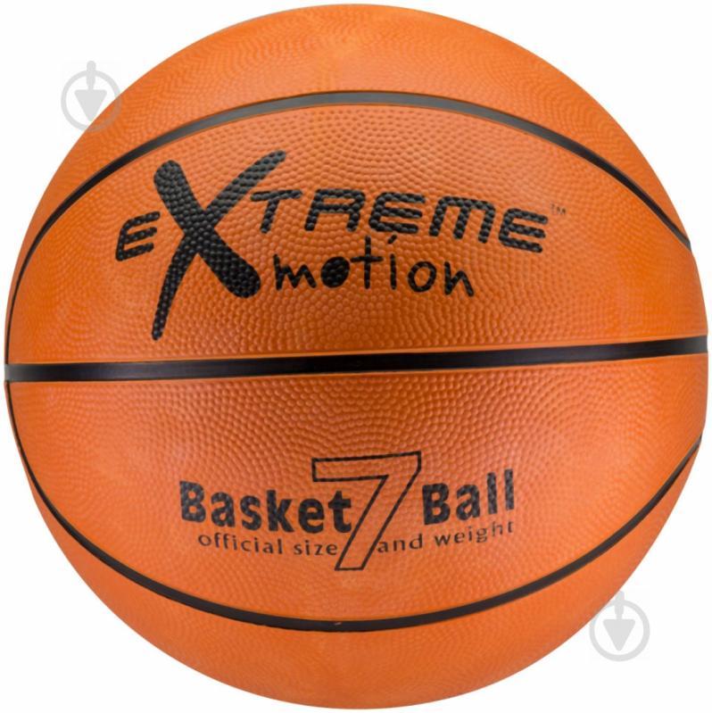 Баскетбольний м'яч Extreme Motion BB0104 р. 7 - фото 1