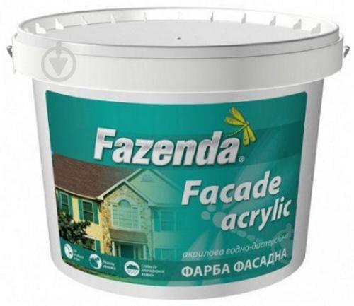 Фарба фасадна акрилова Fazenda 6,3 кг