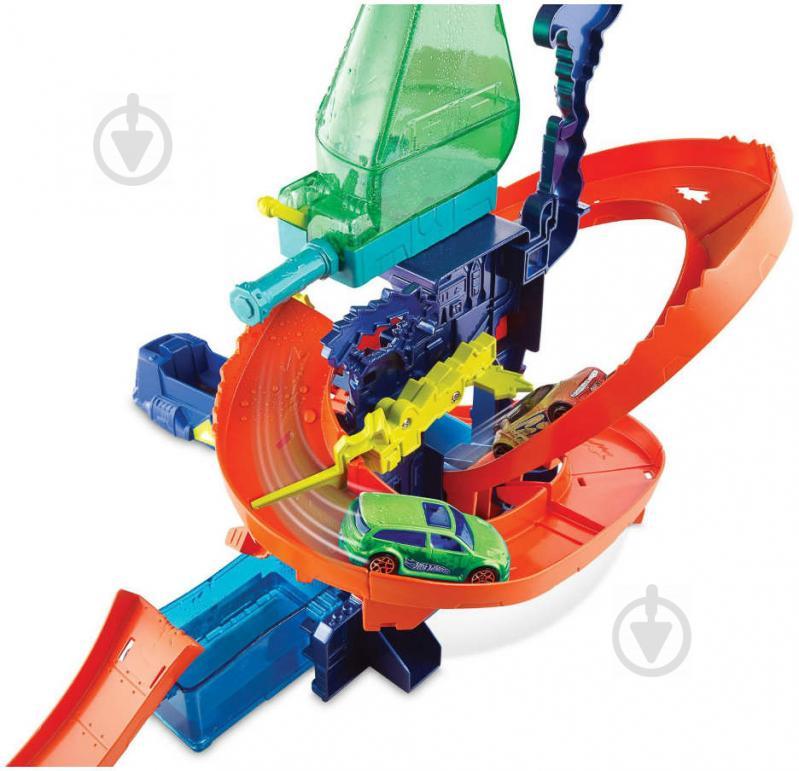 Трек Hot Wheels Научная лаборатория Взрыв цветов CCP76 - фото 4