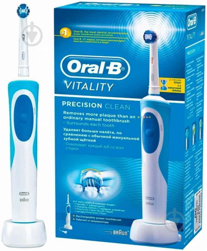 Електрична зубна щітка Braun Oral-B Vitality PrecClean D12 - фото 3 f46a419f6eaf7