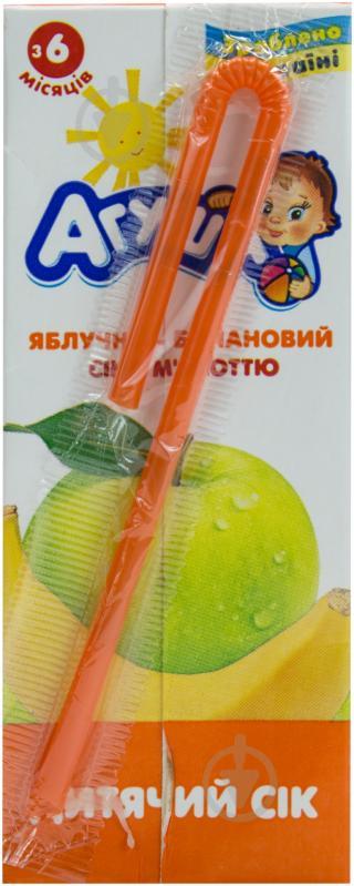 Сік Агуша Яблучно-банановий 200 мл 4823063110709 - фото 3