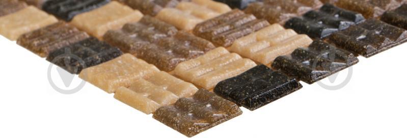 Плитка Value Ceramics мозаика коричневый микс CT22405 32,7x32,7 - фото 2
