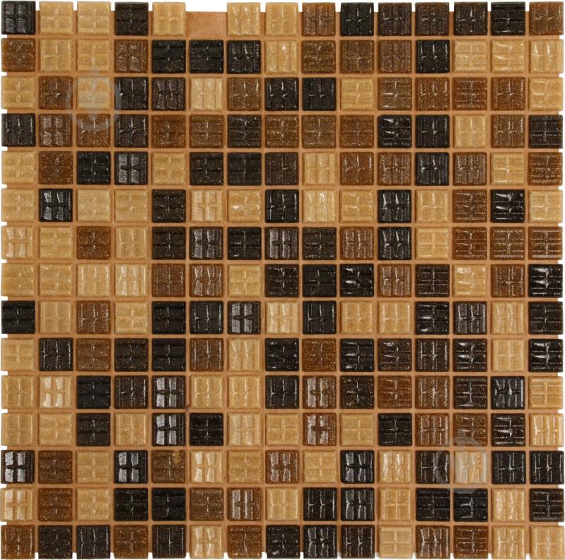 Плитка Value Ceramics мозаика коричневый микс CT22405 32,7x32,7 - фото 1