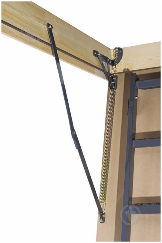 Сделать пружинный механизм складной лестницы