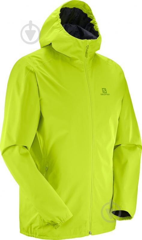 Куртка Salomon Essential Jkt M р. XL лайм L40077000 - фото 3