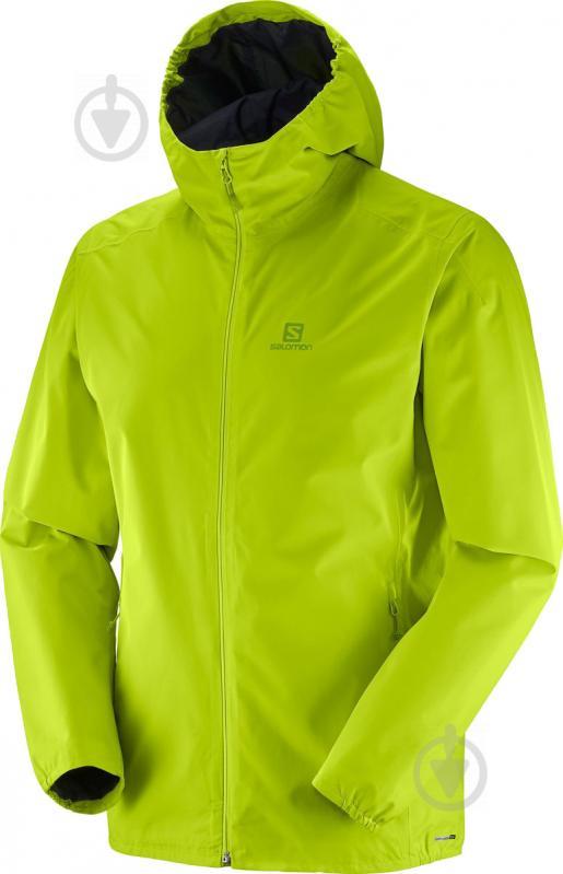 Куртка Salomon Essential Jkt M р. XL лайм L40077000 - фото 1
