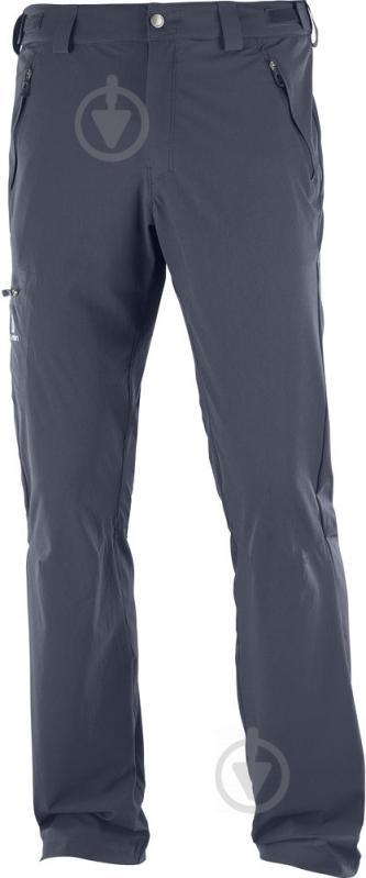 Брюки Salomon Wayfarer Pant M L40106900 р. 52 темно-серый - фото 1