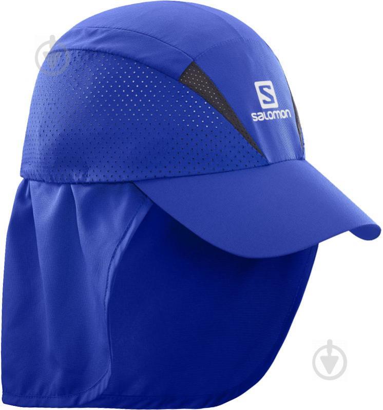 Кепка Salomon L40044800 L/XL синий - фото 1