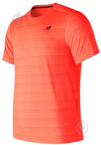 Футболка New Balance р. M оранжевый MT73054DYT - фото 1