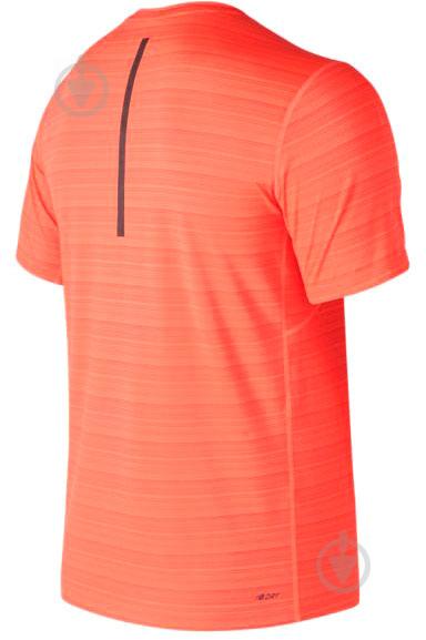 Футболка New Balance р. M оранжевый MT73054DYT - фото 2