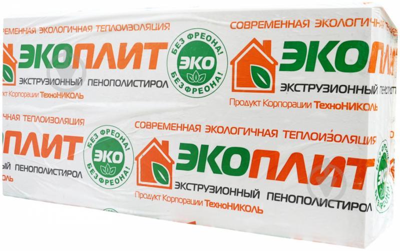 Екструзійний пінополістирол TECHNONICOL 1180x580x20мм 35 250 Стандарт
