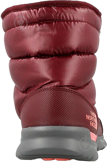 Ботинки THE NORTH FACE Face Thermoball Lace II р. 6 бордовый - фото 3