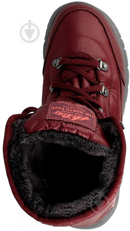 Ботинки THE NORTH FACE Face Thermoball Lace II р. 6 бордовый - фото 4