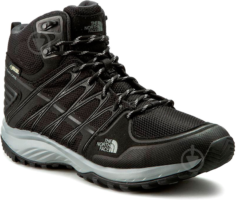 Ботинки THE NORTH FACE Litewave Explore Mid Gtx р. 10 черный - фото 1