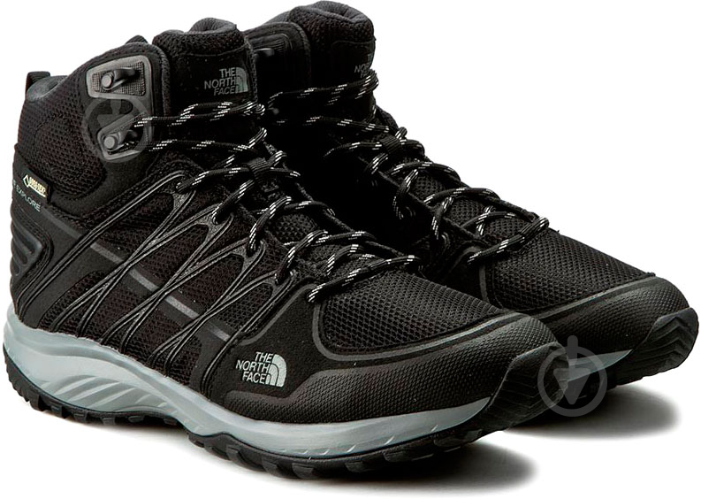 Ботинки THE NORTH FACE Litewave Explore Mid Gtx р. 10 черный - фото 2
