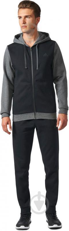 Спортивный костюм Adidas Energize р. L серый с черным BQ6974 - фото 2