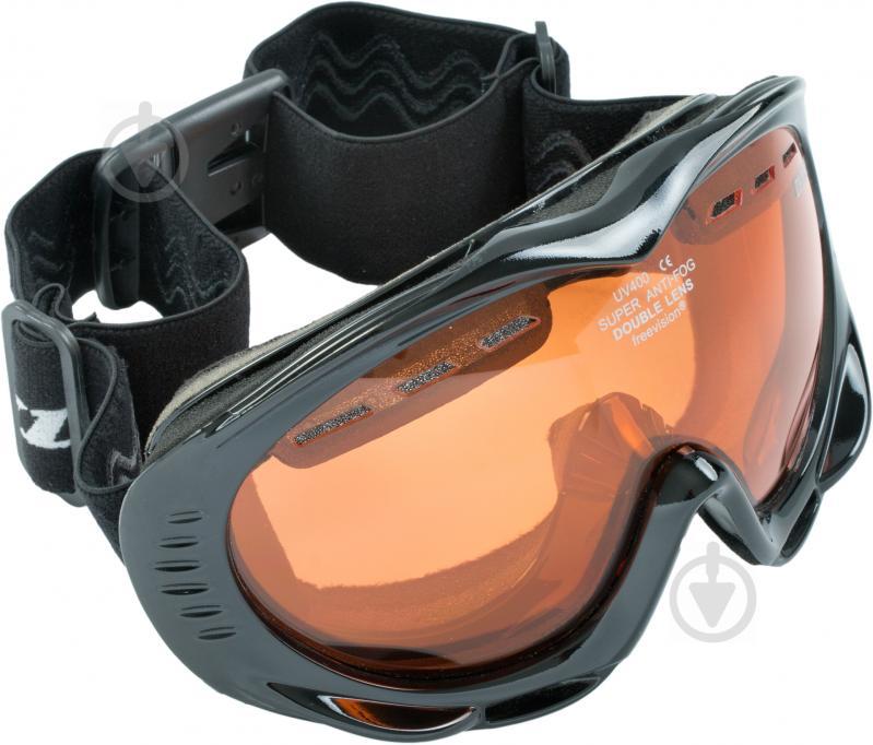Гірськолижна маска Dunlop Frost 01 BLK DUNLOP Frost 01 BLK - фото 1