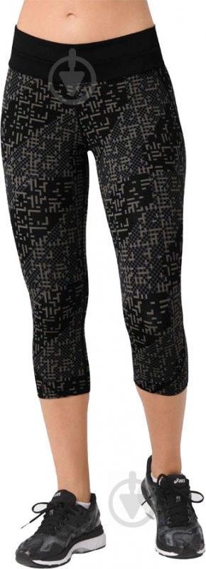 Тайтсы Asics Race Knee Tight р. L черный 141230-1179 - фото 1