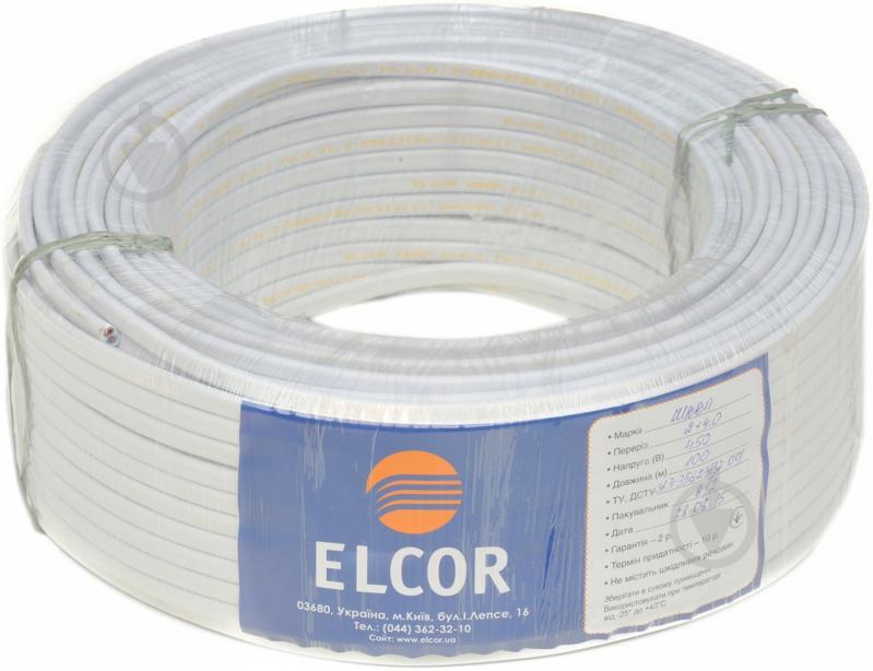 Провод многожильный  Елкор ШВВП 2x4,0 - фото 2