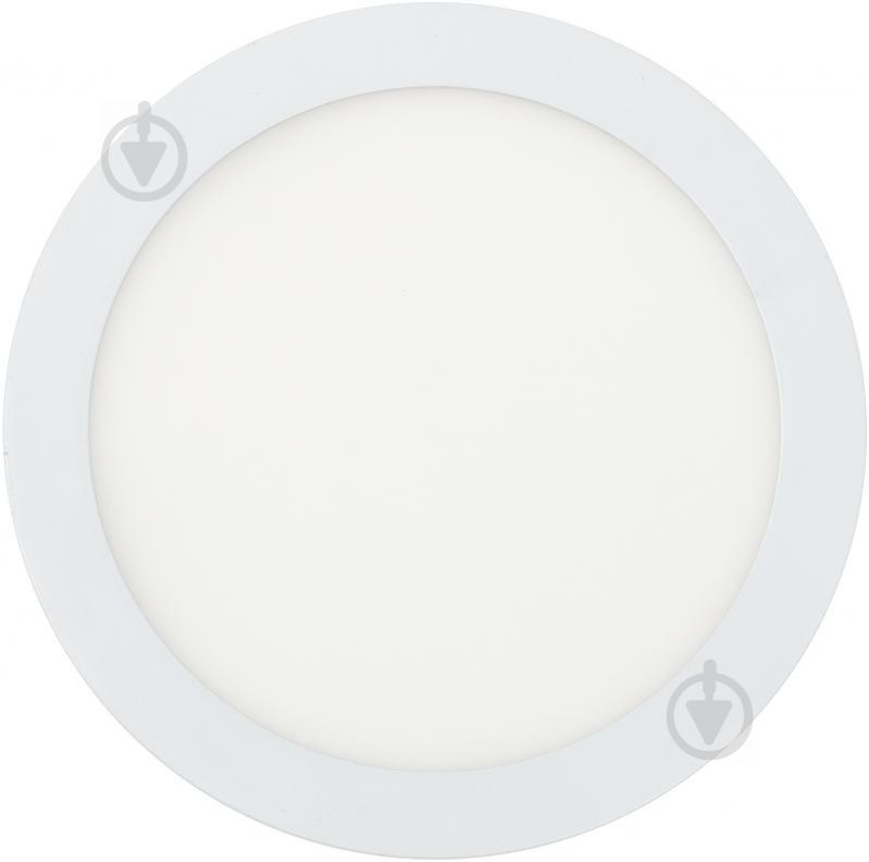 Світильник вбудовуваний (Downlight) Eurolamp 20 Вт 4000 К білий матовий LED-DLR-20/4 - фото 1