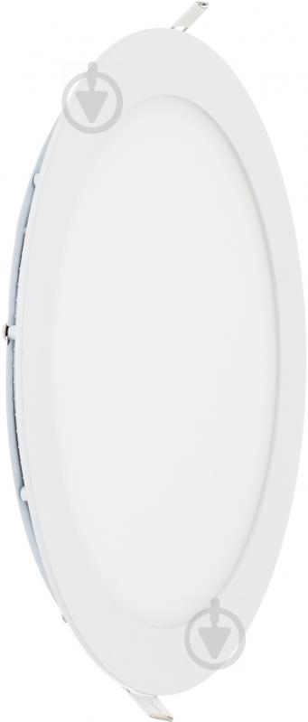 Світильник вбудовуваний (Downlight) Eurolamp 20 Вт 4000 К білий матовий LED-DLR-20/4 - фото 2