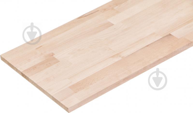 Щит мебельный Горекс 20х400х1200 мм бук сросшийся