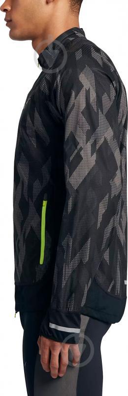 85d89b4f ᐉ Ветровка Nike Trail 836400-010 M черный • Купить в Киеве, Украине ...