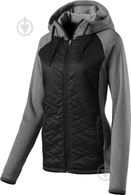 Куртка Energetics Marry р. XXS чорний із сірим 267919-50 - фото 1