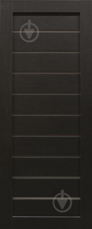 Дверне полотно Dverona 502 ПГ 800 мм венге - фото 1