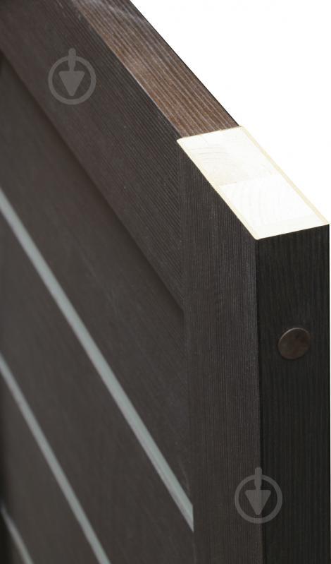 Дверне полотно Dverona 502 ПГ 800 мм венге - фото 7