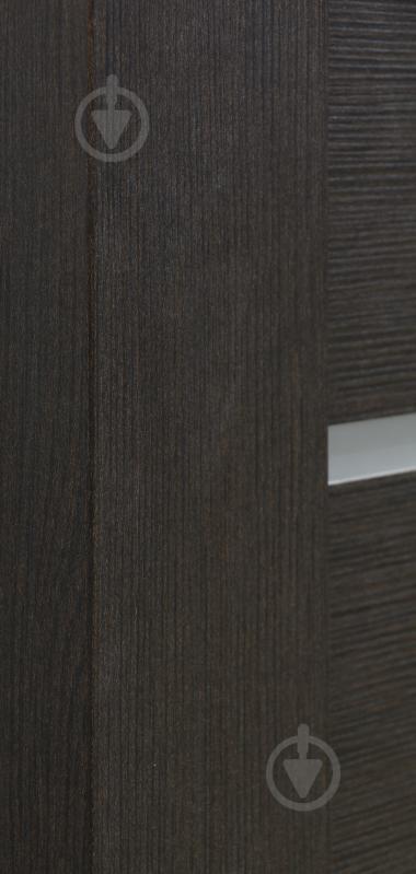 Дверне полотно Dverona 502 ПГ 800 мм венге - фото 4