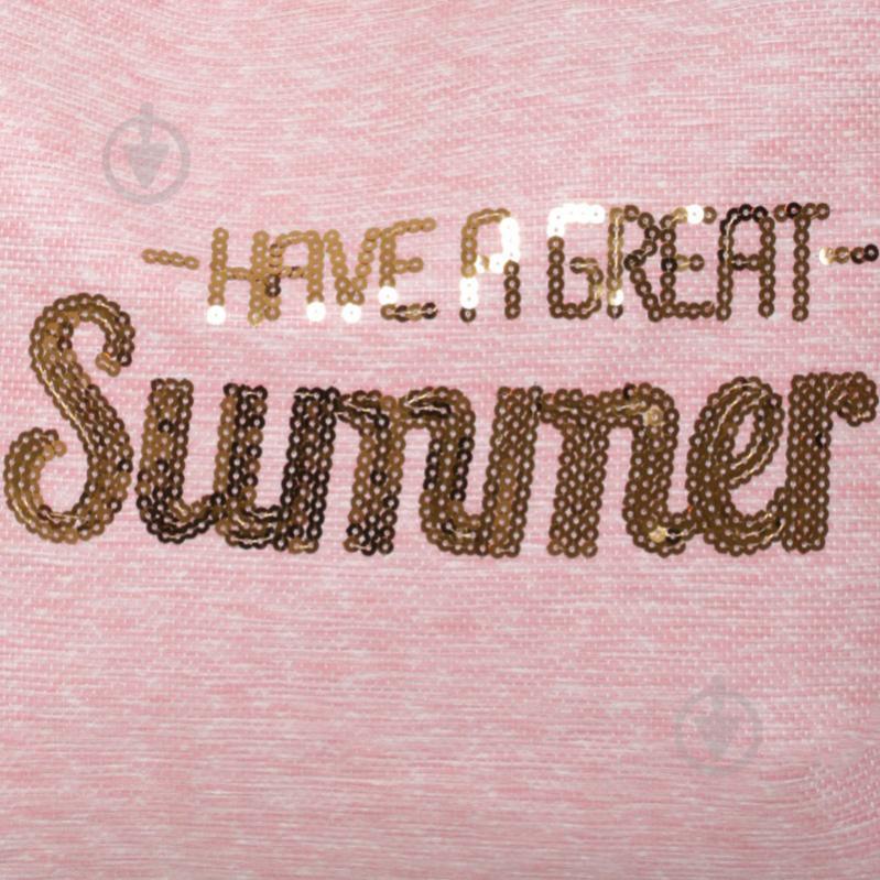 Сумка пляжна Summer рожевий LY04B7291 - фото 3