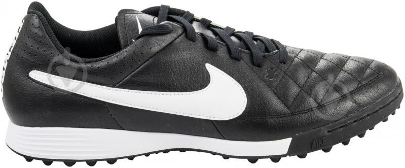 Бутсы Nike Tiempo Genio Leather 631284-010 9,5 черный - фото 3