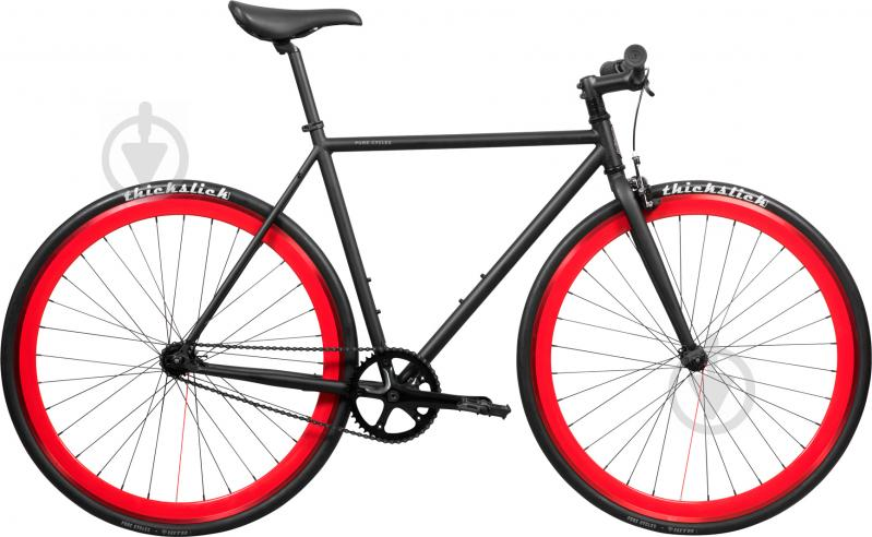 Велосипед Pure Fix Echo чорно-червоний рама - 51 см - фото 1