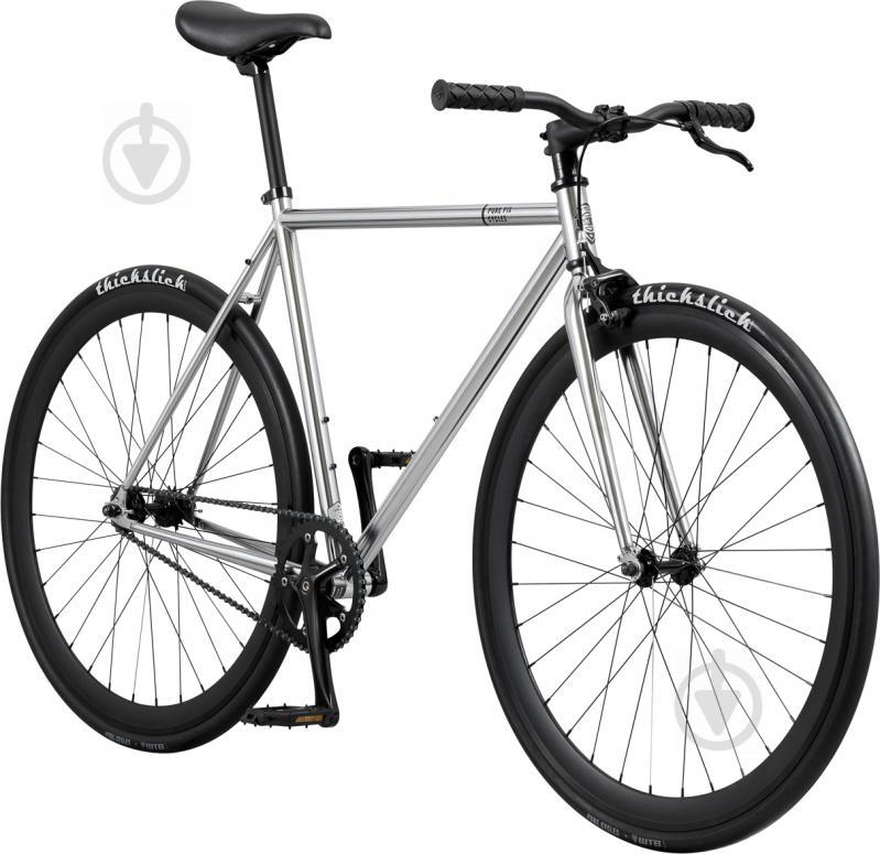 Велосипед Pure Fix Oscar сріблястий рама - 51 см - фото 2