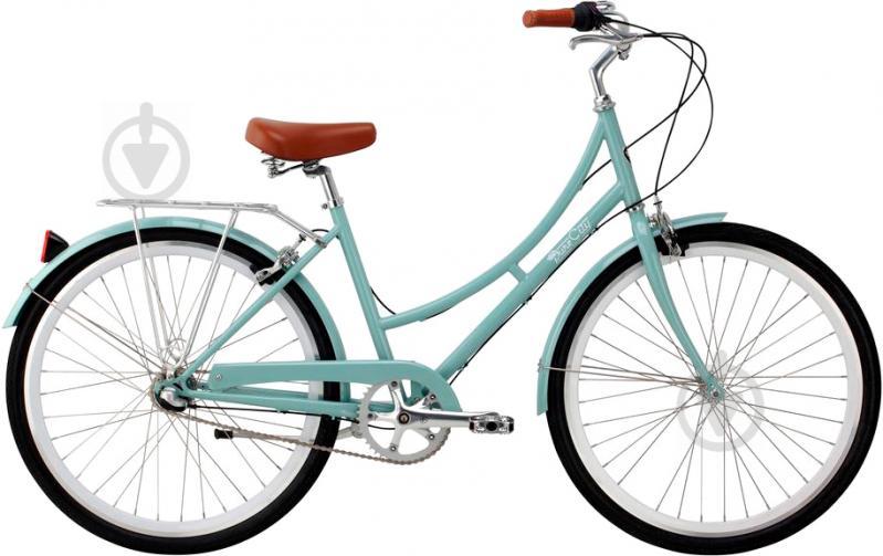 Велосипед Pure Fix Crosby зелено-білий рама - 46 см - фото 1