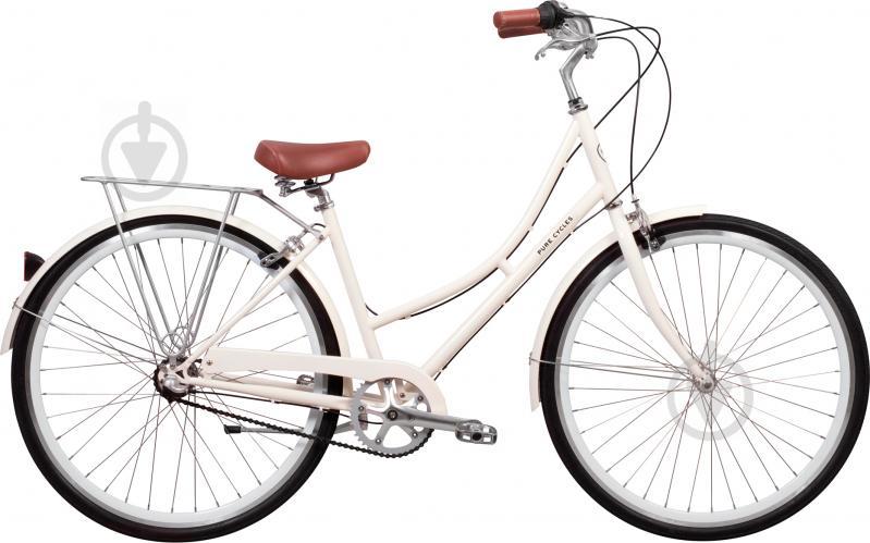Велосипед Pure Fix Magdalen бежево-білий рама - 46 см - фото 1