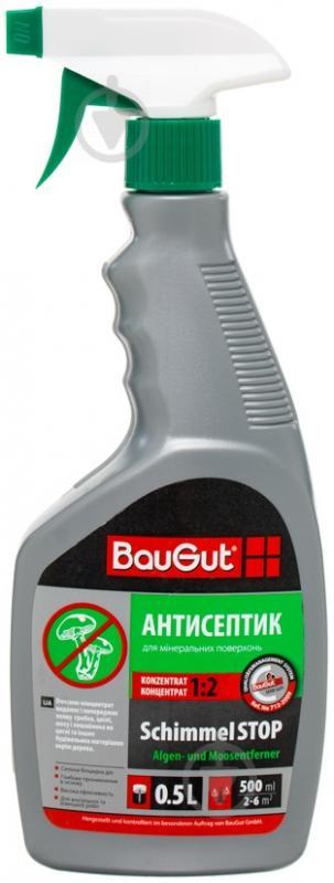 Антисептик противогрибковый SchimmelSTOP BauGut 0,5 л - фото 1