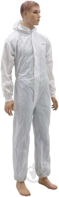ᐉ Комбінезон Venitex хімстійкий р. M DT117TM білий • Краща ціна в ... 76c35de0aaea3