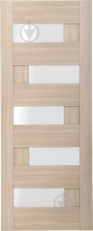 Дверне полотно ОМіС Доміно ПО 700 мм дуб лате - фото 1