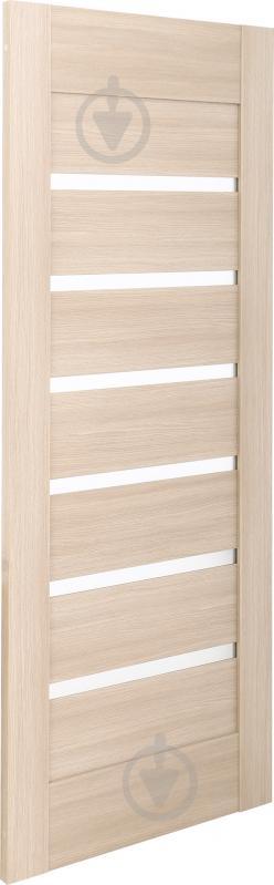 Дверне полотно ПВХ ОМіС Лагуна ПО 600 мм дуб лате - фото 2
