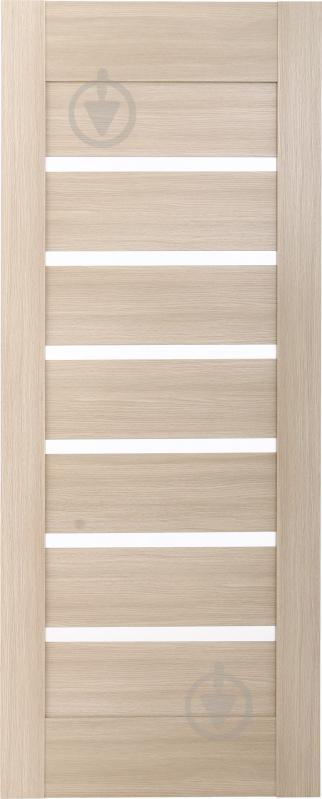 Дверне полотно ПВХ ОМіС Лагуна ПО 600 мм дуб лате - фото 1