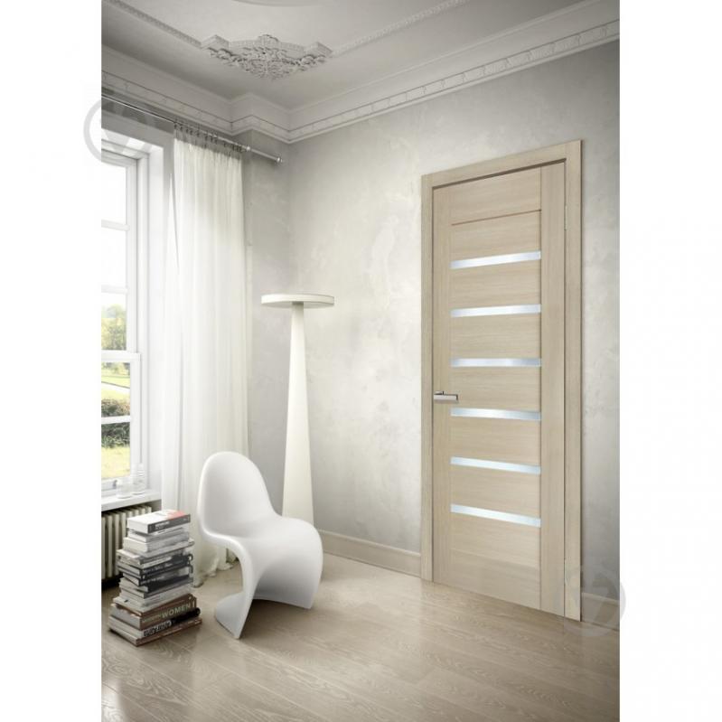Дверне полотно ПВХ ОМіС Лагуна ПО 600 мм дуб лате - фото 4